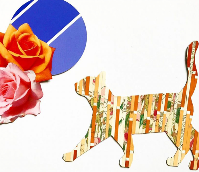 CRAFT HAPPY HOUR MINIMALIST & MAXIMALIST COLLAGE WITH ELLA CAMPBELL