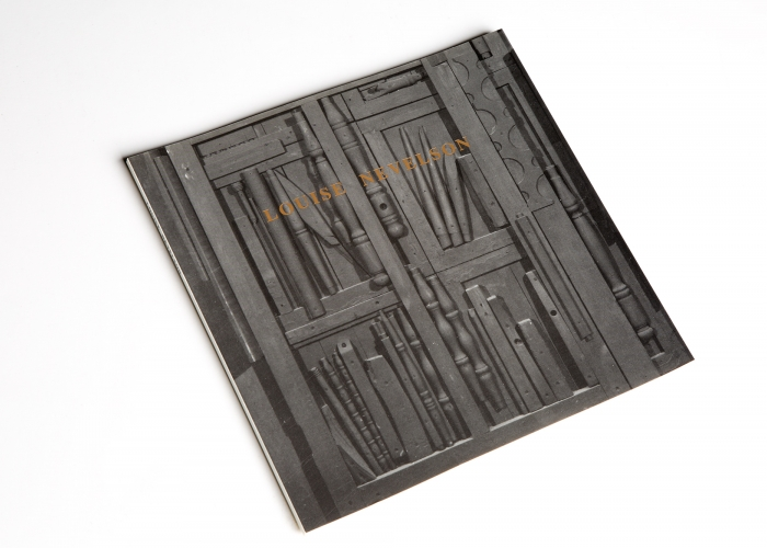 Louise Nevelson: Collages