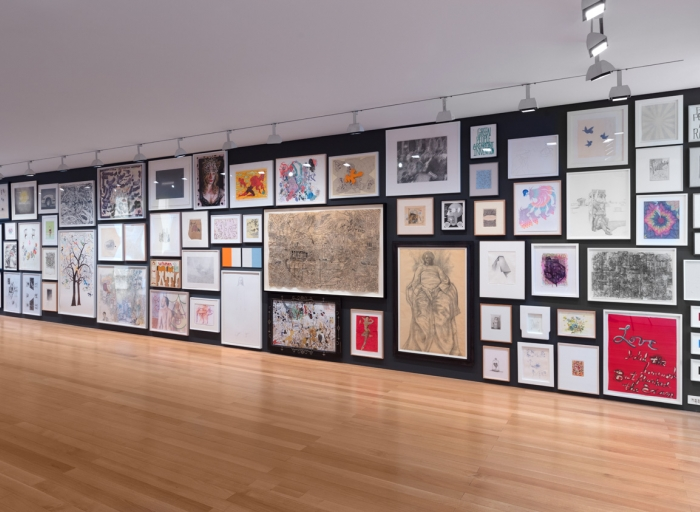 """Jim Hodges in """"Drawn Together Again"""" at FLAG Art Foundation"""