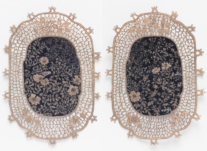 "Jasmin Sian in ""Surface/Depth: The Decorative After Miriam Schapiro"""