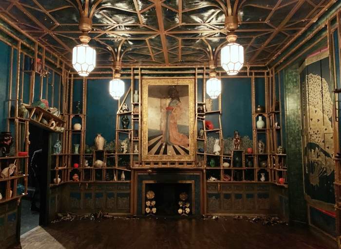 Darren Waterston's Filthy Lucre: Whistler's Peacock Room Reimagined