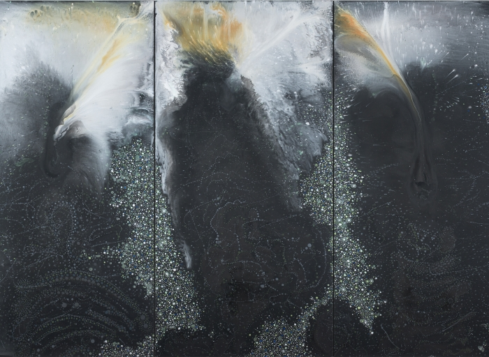 Barbara Takenaga in Chaos and Awe: Painting for the 21st Century
