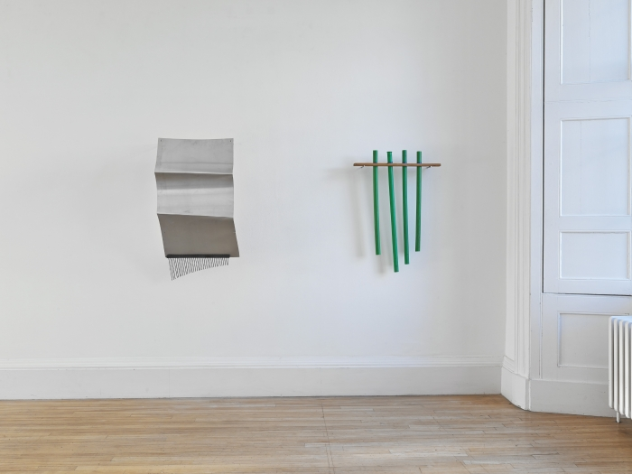 Tony Conrad, Installation view, Tony Conrad: Invented Acoustical Tools 1969-2014, Inverleith House, Royal Botanic Garden, Edinburgh, 2014