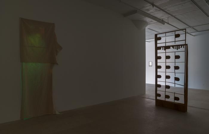 Installation view, Greene Naftali, New York, 2013