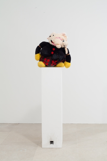 gelitin Emma, 2012 Mixed media 70 x 19 1/2 x 16 1/2 inches(177.8 x 49.5 x 41.9 cm)