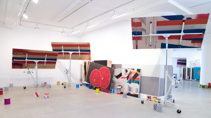 Installation view  Greene Naftali, New York, 2009