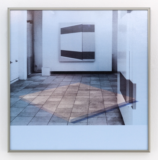 Daan van Golden White Painting/Two Paintings, 2012 Giclee print on photo paper 12 13/16 x 12 5/8 inches (32.1 x 32.1 cm)