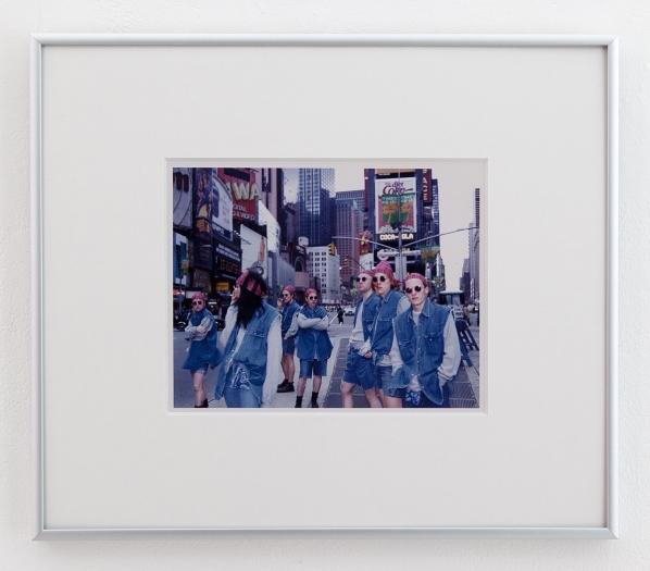 Art Club 2000 Untitled (Times Square / Gap Grunge), 1992-3 C-print Image: 6 x 7 1/2 inches (15.2 x 19.1 cm) Frame: 12 1/8 x 14 1/8 x 3/4 inches (30.8 x 35.9 x 1.9 cm)