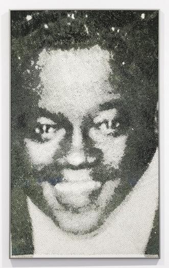 Daan van Golden  Fats Domino  Piezo print   43 1/2 x 26 3/8 inches (110.4 x 66.9 cm)