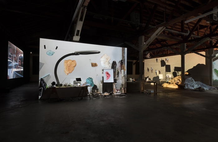 Installation view, Biologue, 356 Mission Road, Los Angeles