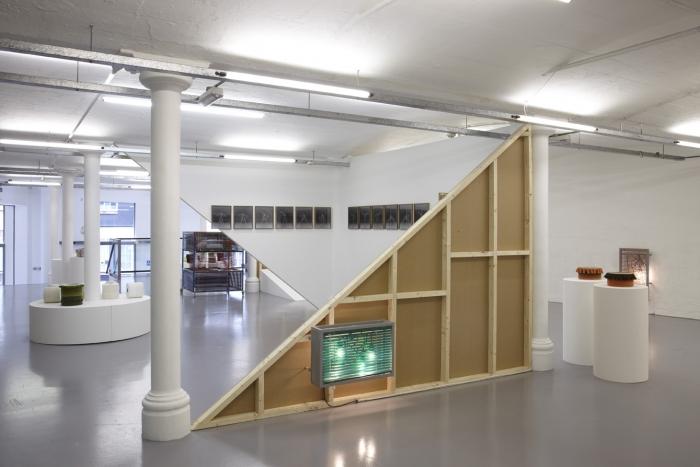 Installation view, Wild Against Gravity, Modern Art Oxford, 2011