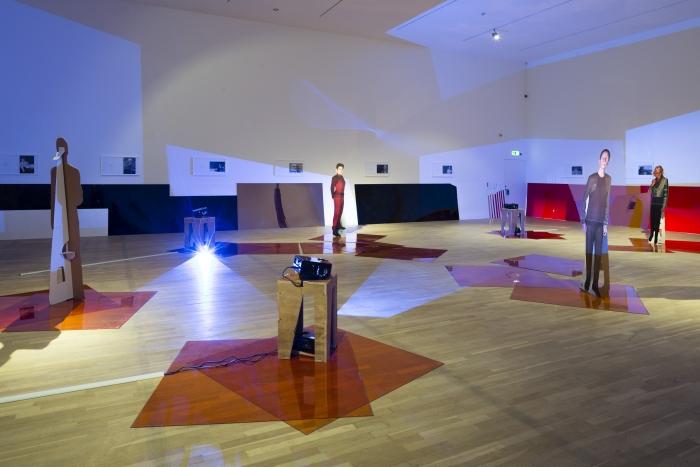 Installation view, Into the Dimensional Corridor, National Gallery of Denmark, Copenhagen, 2014