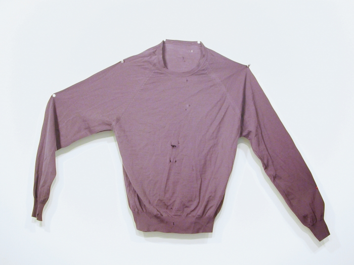 Jim Drain, Untitled (100% pure silk), 2007, C-print, Mounted on Aluminum, 23 1/4  x 21 x 1 inches