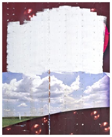 Gedi Sibony A Month of Saturday, 2015 Aluminum semi-trailer 92 x 75 1/8 inches (233.7 x 190.8 cm)