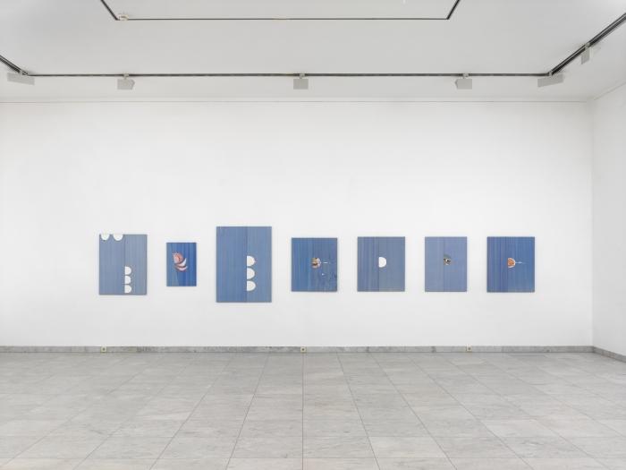 Monika Baer, Installation view, Grand Joyride, Museum Abteiberg,  Mönchengladbach, Germany, 2016