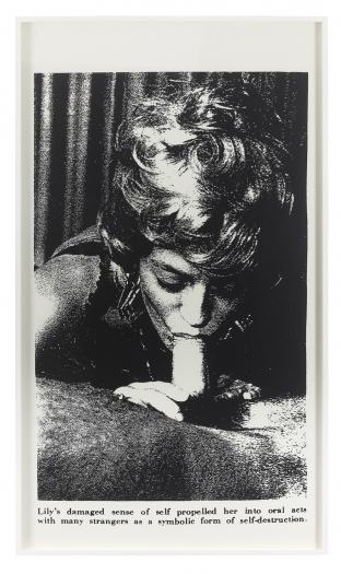 Lutz Bacher, Sex with Strangers, 1986