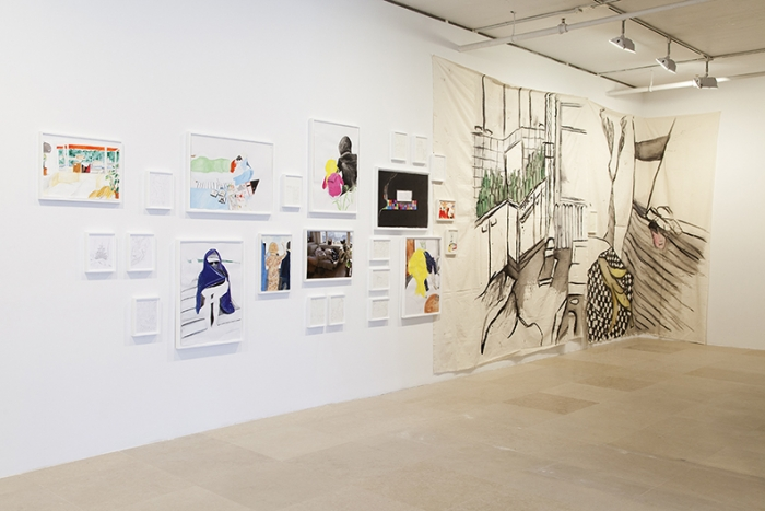 Installation View, Greene Naftali, New York, 2016