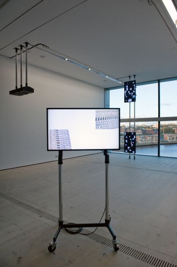 Installation view, Turner Prize 2011, BALTIC Centre for Contemporary Art, UK