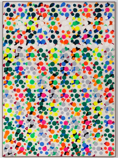 Konrad Lueg Untitled , 1966 Casein tempera on canvas 78 3/4 x 59 inches (200 x 150 cm)