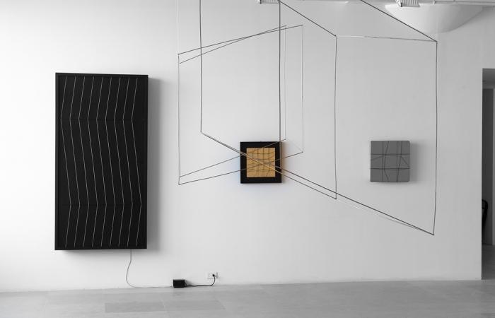 Installation view  Greene Naftali, New York, 2013
