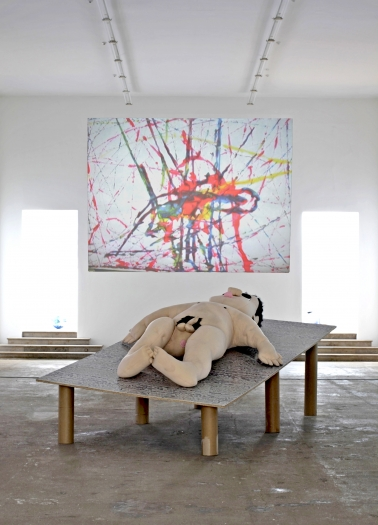 Lutz Bacher, Installation view, Do You Love Me?  Kunstverein Munich, Munich, 2009