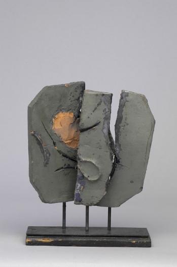 Gianni Colombo Quadrante Mutabile, 1958 Ceramic 16 1/8 x 11 7/8 x 5 1/2 inches
