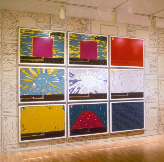 Installation view, Museum of Modern Art, New York, 1997