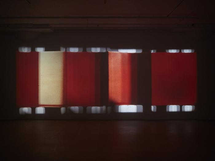 Paul sharits Installation view, Dream Displacement, Greene Naftali, New York, 2015