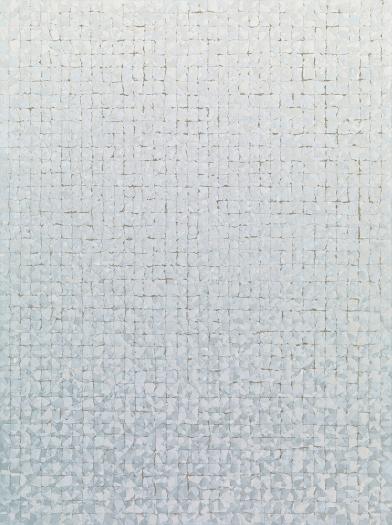 Chung Sang-Hwa  Untitled 012-5-7, 2012 Acrylic on canvas  51 3/16 x 38 3/16 (130 x 97 cm)