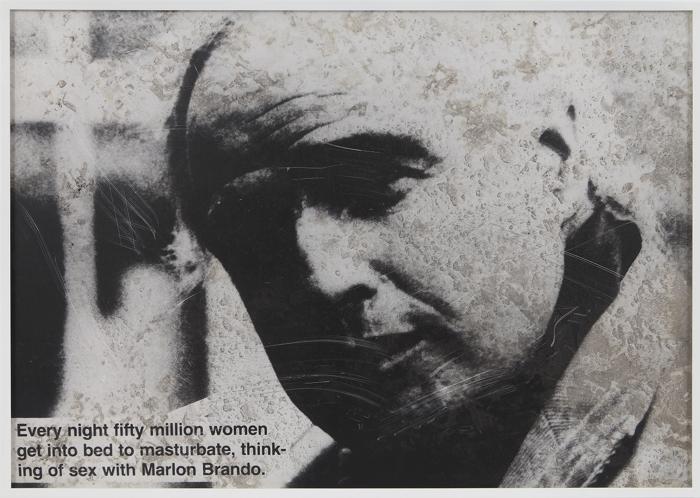 Lutz Bacher, Jokes (Brando),1987-88
