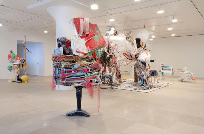 Gelitin, Installation view, Blind Sculpture, Greene Naftali, New York, 2010