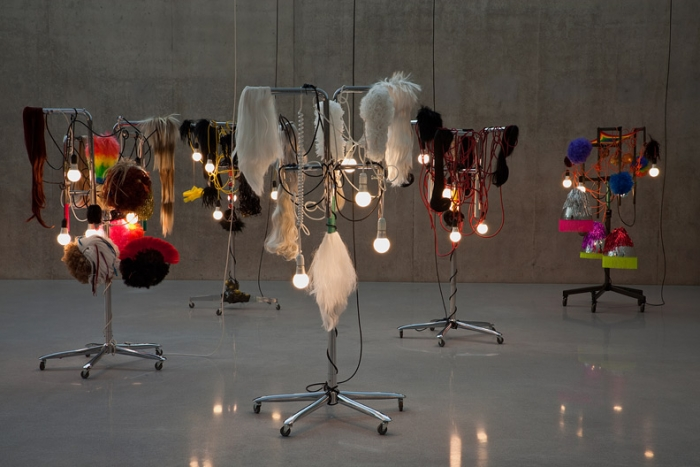 Warrior Believer Lover, 2011 Medicine Men, 2010 Installation view, Kunsthaus Bregenz, 2011