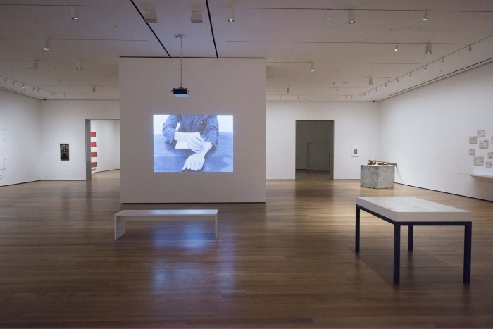 Installation view, From The Collection: 1960-1969, MoMa, New York, 2016