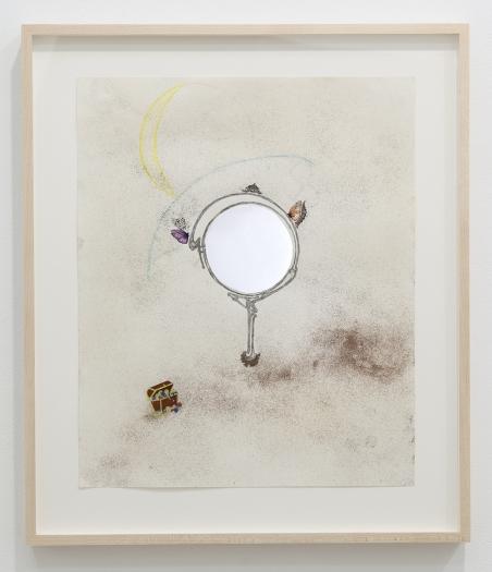 Julie Becker I am am I?, 2010 Mixed media Paper: 17 1/8 x 14 inches (43.5 x 35.6 cm) Frame: 20 3/8 x 17 5/16 x 1 3/8 inches (51.8 x 44 x 3.5 cm)
