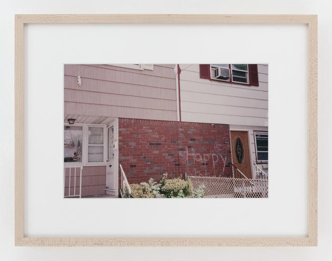 Dan Graham Happy, Bayonne, NJ, 1978 Image: 8 x 12 inches (20.3 x 30.5 cm) Frame: 13 1/4 x 17 1/4 x 1 1/4 inches (33.7 x 43.2 x 2.5 cm)