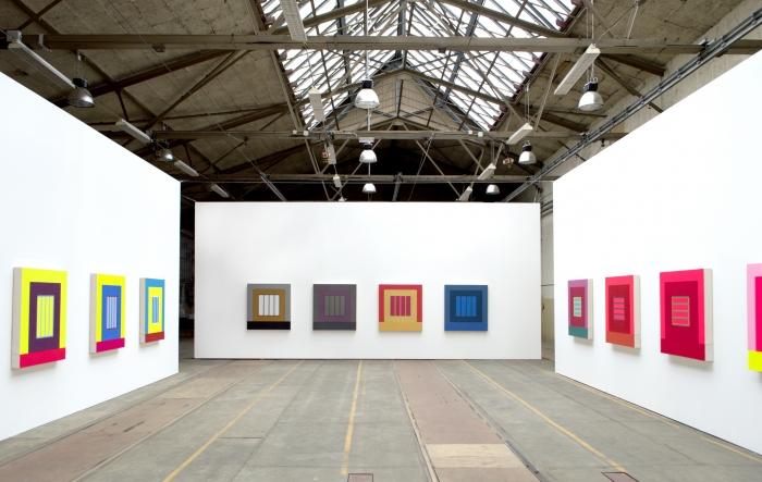 Installation view, Prisons, Friedrich Schiller University, Jena, Germany, 2014