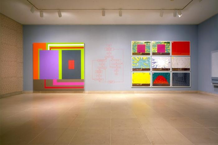 Installation view, Dallas Museum of Art, Dallas, Texas, 1995