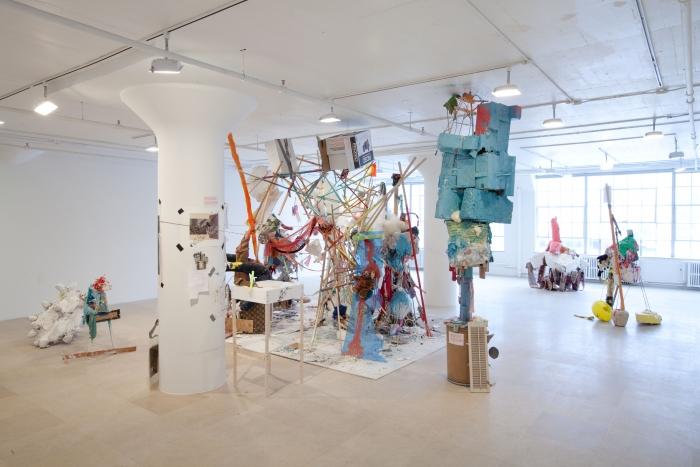 Installation view, Blind Sculpture, Greene Naftali, New York, 2010
