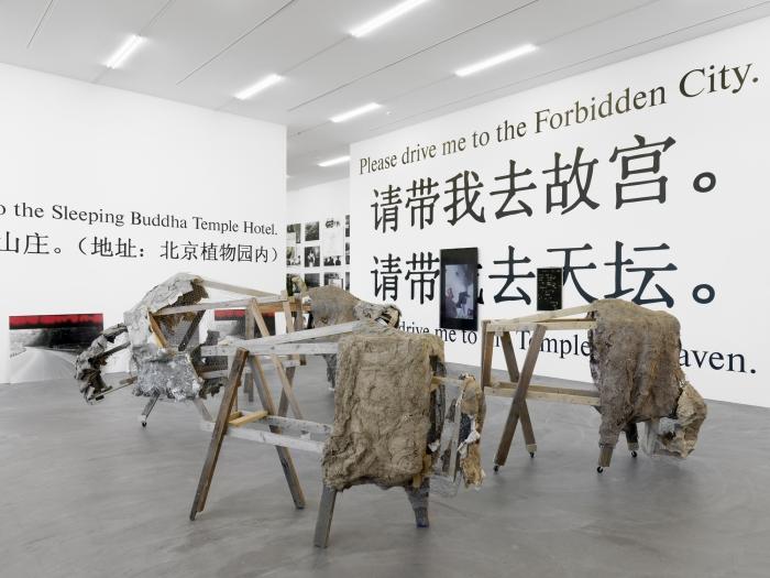 Lutz, Bacher, Installation view, Snow Kunsthalle Zurich, Zurich, 2013