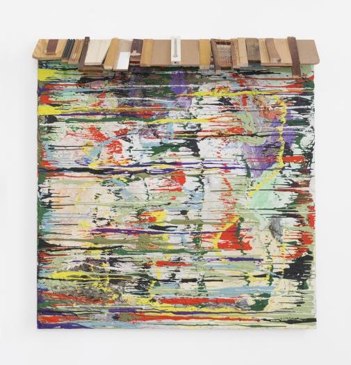 Gelitin  Untitled, 2014   Plasticine, wood  66 x 63 x 12 inches (168 x 160 x 31 cm)