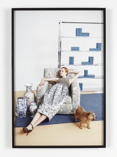 Bernadette Corporation with Benjamin Alexander Huseby , 2015 Inkjet prints 34 x 22 5/8 inches (86.4 x 57.5 cm)