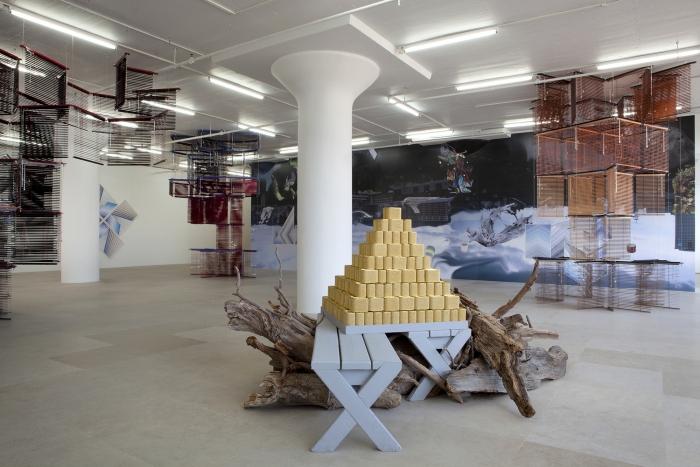 Installation view , Greene Naftali, New York, 2012