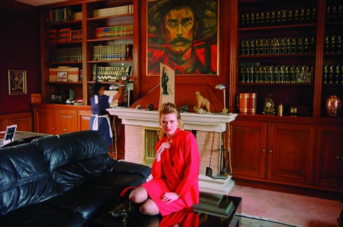 Daniela Rossell  Untitled (Ricas y Famosas) Angelica Zapata, 1999  C-print  30 x 40 inches (76.2 x 101.6 cm)