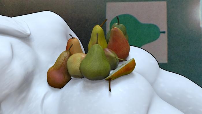 Helen Marten  Orchids, or a hemispherical bottom, 2013 (still)  Digital video  19 minutes 24 seconds (looped)