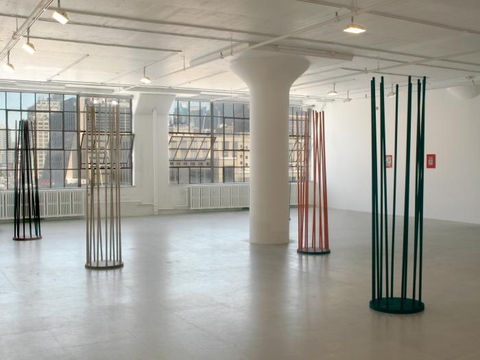 Michaela Meise, Installation view, Greene Naftali, New York, 2009