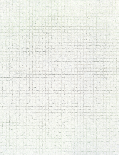 Chung Sang-Hwa Untitled, 1985, Acrylic on canvas, 116x89cm