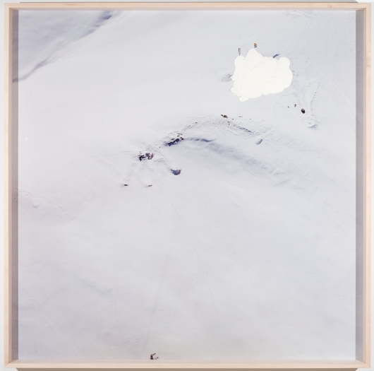 Hase, 2009, c-print with plasticine, 67 x 67 inches
