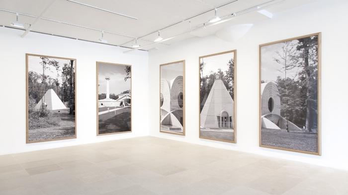 Installation view, Greene Naftali, New York, 2015