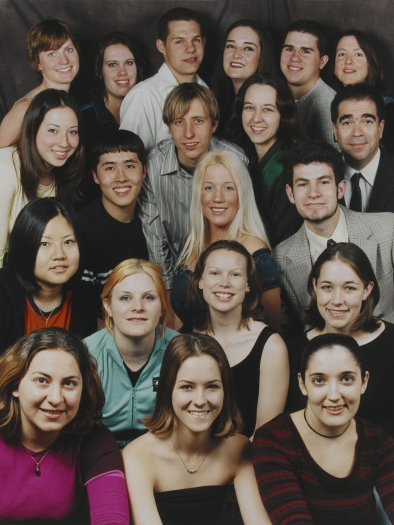 Michael Smith  Sears Class Portrait, Spring 2002, 2002  Photograph  10 x 13 inches (25.4 x 33 cm)