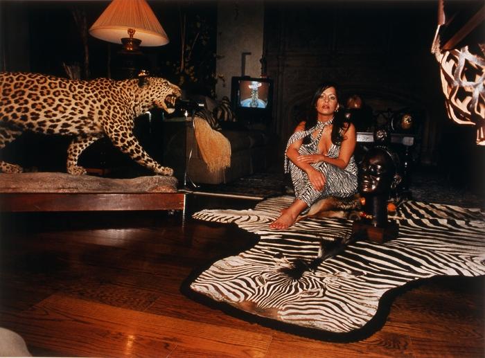 Daniela Rossell  Untitled (Ricas y Famosas) Mariana African, 2002  C-print  30 x 40 inches (76.2 x 101.6 cm)